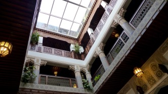 Ryad hotel lobby