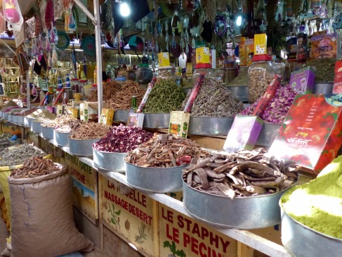 Town market food