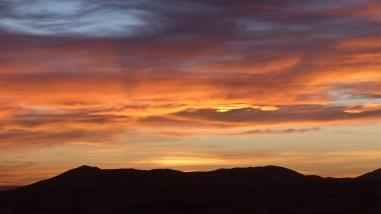 Sunset over Sahara