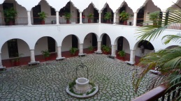 University courtyard in Merida.