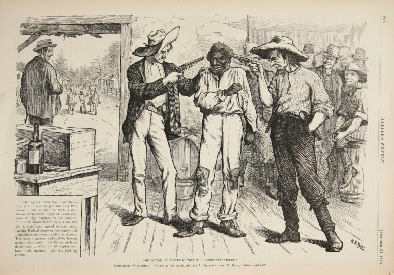 'Of_Course_He_Wants_To_Vote_The_Democratic_Ticket'_(October_1876),_Harper's_Weekly