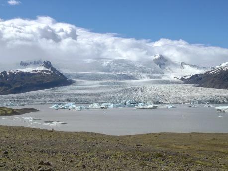 Glacier coming at you.