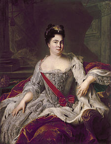 Catherine I of Russia (Image from Wikipedia)